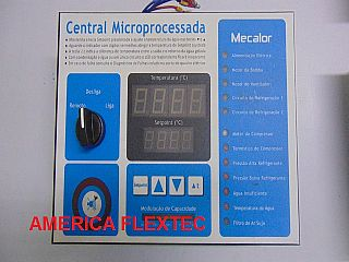 Central Microprocessada Mecalor